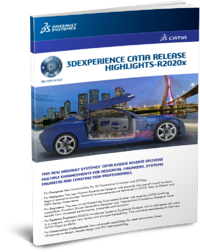 3DEXPERIENCE CATIA R2020x whats new ebook