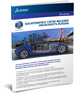 3DEXPERIENCE CATIA R2020x whats new ebook