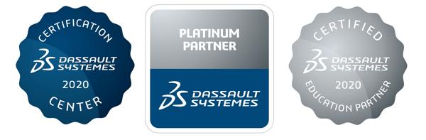 3DS 2020 DTE platinum certification education partner