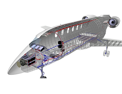 Aerospace Dassault Systemes CATIA software