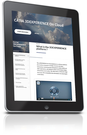 CATIA 3DEXPERIENCE on the Cloud Learning Channel trans