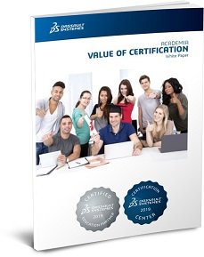 CATIA Certification academia brochure
