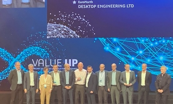 DTE wins Euronorth top award Dassault systemes crop