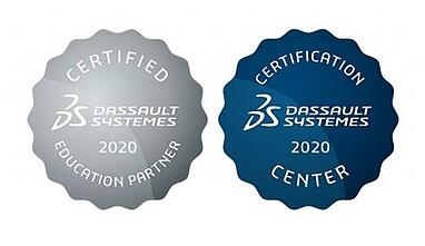 Dassault Systemes 2020 accreditation and certification centre platinum partner crop-1