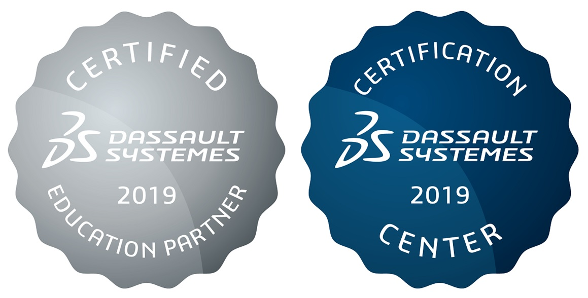 Dassault Systemes Certification Accredited Business Partner DTE 2019