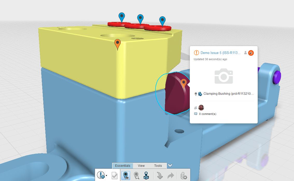 Raising Issues in 3DEXPERIENCE Platform