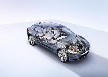 Jaguar Landrover design with Dassault Systemes