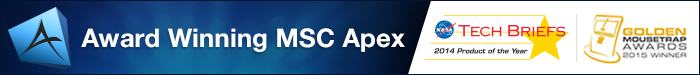 MSC Apex - fully integrated generative simulation environment