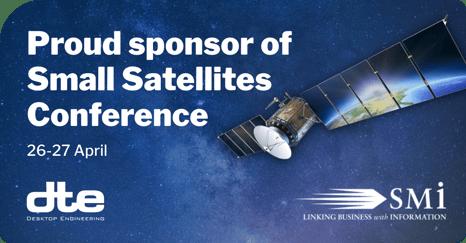 Small Satellites conference DTE sponsor
